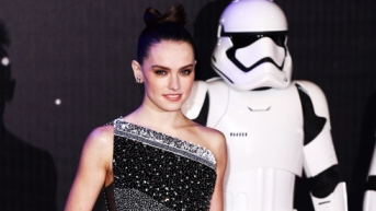 Mandatory Credit: Photo by David Fisher/REX/Shutterstock (5494580y) Daisy Ridley 'Star Wars: The Force Awakens' film premiere, London, Britain - 16 Dec 2015
